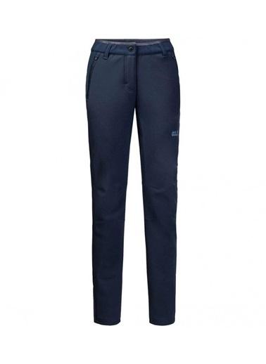 Jack Wolfskin Zenon Softshell Pants Kadın Pantolon - 1505111-1910 Lacivert
